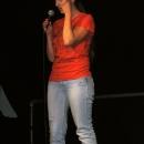 Anna Kienreich beim 1. U20 Poetry Slam Erlangen im November 2010