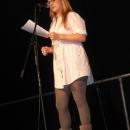 Katrin Raab beim 1. U20 Poetry Slam Erlangen im November 2010