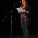 Thea von Rüden beim 1. U20 Poetry Slam Erlangen im November 2010