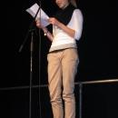 Svenja Kehlenbeck beim 1. U20 Poetry Slam Erlangen im November 2010