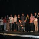 Alle Poeten beim 1. U20 Poetry Slam Erlangen im Oktonber 2010
