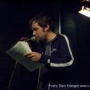 Bybercap beim 7. Geburtstag des Poetry Slam Erlangen 2009