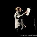 Toby Hoffmann  beim 7. Geburtstag des Poetry Slam Erlangen 2009