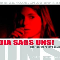 Lydia Sags Uns!