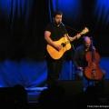 Jan Koch und Peter Ehrlichmann beim Geburtstags-Poetry-Slam Erlangen im Januar 2014