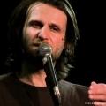 Klaus Lederwasch beim Geburtstags-Poetry-Slam Erlangen im Januar 2014