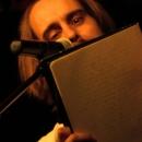 Andy Strauß beim Open-Air-Poetry-Slam zum Poetenfest 2013