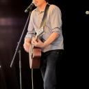 Frank Spilker beim Open-Air-Poetry-Slam zum Poetenfest 2013