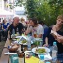 Die Ruhe vor dem Sturm beim Open-Air-Poetry-Slam zum Poetenfest 2013