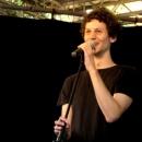 Lucas Fassnacht beim Open-Air-Poetry-Slam zum Poetenfest 2013