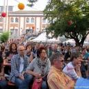 Publikum beim Open-Air-Poetry-Slam zum Poetenfest 2013