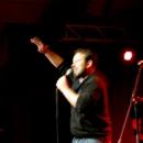 AIDA in Action beim Poetry Slam Erlangen im April 2014
