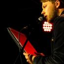 Christian Ritter beim Poetry Slam Erlangen im April 2014
