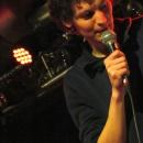 Lucas Fassnacht beim Poetry Slam Erlangen im April 2014