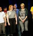 Finale Abstimmung beim Poetry Slam Erlangen im April 2015