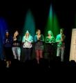 Alle Poeten des Abends beim Poetry Slam Erlangen im April 2016