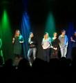 Alle Poeten zum Schluss des Poetry Slam Erlangen im April 2016