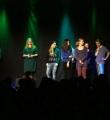 Die zwei Finalisten beim Poetry Slam Erlangen im April 2016