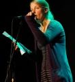 Lillemore Kausch beim Poetry Slam Erlangen im April 2016