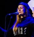 Lolo beim Poetry Slam Erlangen im April 2016