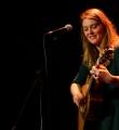 """Die Musikerin """"Marit und Klaus"""" beim Poetry Slam Erlangen im April 2016"""