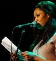 Zoe Hagen beim Poetry Slam Erlangen im April 2016