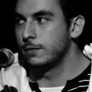 Daniel Nuber beim Poetry Slam Erlangen im Dezember 2010