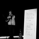 Jan Siegert beim Poetry Slam Erlangen im Dezember 2010