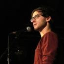 Finalist Maximilian Humpert  beim Poetry Slam Erlangen im Dezember 2013