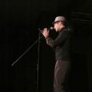 Leo Fruehling beim Poetry Slam Erlangen im Dezember 2013