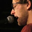 Maximilian Humpert beim Poetry Slam Erlangen im Dezember 2013