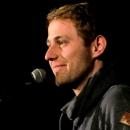 Philipp Czerny beim Poetry Slam Erlangen im Dezember 2013