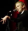 Finale Lisa Eckhardt beim Poetry Slam im Dezember 2014