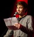 Finale Pascal Simon beim Poetry Slam im Dezember 2014