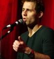 Philipp Czerny beim Poetry Slam im Dezember 2014