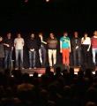 Alle Poeten des Abends beim Poetry Slam Erlangen im Dezember 2015