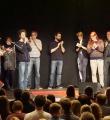 Applaus für Alle beim Poetry Slam Erlangen im Dezember 2015