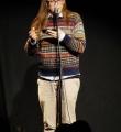 Bo Wimmer im Finale beim Poetry Slam Erlangen im Dezember 2015