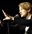 Lisa Eckhart beim Poetry Slam Erlangen im Dezember 2015