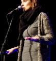 Pauline Füg für Grossraumdichten beim Poetry Slam Erlangen im Dezember 2015