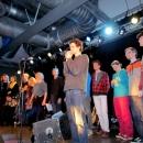 Alle Poeten beim Poetry Slam Erlangen im Februar 2014
