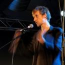 Benedict Hegemann beim Poetry Slam Erlangen im Februar 2014