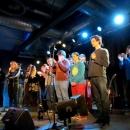 Finalistenabstimmung beim Poetry Slam Erlangen im Februar 2014