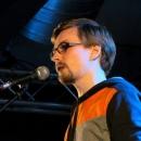 Tom Schildhauer beim Poetry Slam Erlangen im Februar 2014