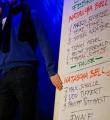 Abstimmung beim Poetry Slam Erlangen im Februar 2015