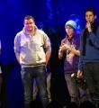 Finalabstimmung beim Poetry Slam Erlangen im Februar 2015