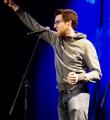 Finale Markus Becherer beim Poetry Slam Erlangen im Februar 2015