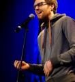 Markus Becherer beim Poetry Slam Erlangen im Februar 2015