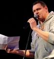 Thomas Schmidt beim Poetry Slam Erlangen im Februar 2015