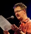 Udo Tiffert beim Poetry Slam Erlangen im Februar 2015